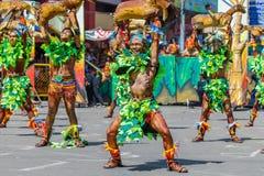 24 janvier 2016 Iloilo, Philippines Festival Dinagyang Unid Image libre de droits