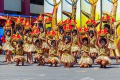 24 janvier 2016 Iloilo, Philippines Festival Dinagyang Unid Photo stock