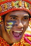 24 janvier 2016 Iloilo, Philippines Festival Dinagyang Unid Photo libre de droits