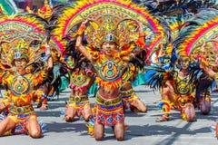 24 janvier 2016 Iloilo, Philippines Festival Dinagyang Unid Image stock
