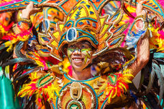 24 janvier 2016 Iloilo, Philippines Festival Dinagyang Unid Photos stock