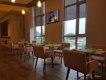 14 janvier 2017, Kuala Lumpur L'inlook de restaurant à IBIS dénomme l'hôtel Sri Damansara Photos libres de droits