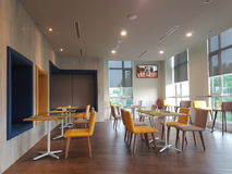 14 janvier 2017, Kuala Lumpur L'inlook de restaurant à IBIS dénomme l'hôtel Sri Damansara Images stock