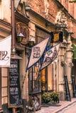 21 janvier 2017 : Le restaurant d'Aifur dans le vieux à Photo libre de droits
