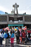8 janvier 2016 - Mexico : La basilique de notre Madame Guadalupe Image stock