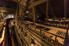 21 janvier 2017 : Musée de bateau de Vasa à Stockholm, Suède Photos libres de droits