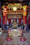 Jao Mae Ya Nang Shrine in Phuket Old Town Royalty Free Stock Photo