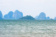 Jao Mai Beach. Beach in southern of Thailand Royalty Free Stock Photography