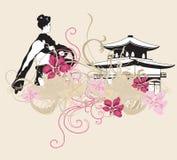 Japão ilustração stock