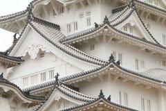 Japão: Castelo de Himeji fotos de stock