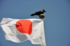 japão Curso a Japão Osaka Bandeira de Japão Fotos de Stock Royalty Free