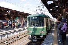 Japão: Enoden Fotografia de Stock