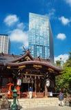 Japão entre a tradição e a modernidade imagens de stock royalty free