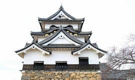 Japão Hikone Castle Fotografia de Stock Royalty Free