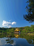 Japão Kyoto Kinkakuji Imagem de Stock