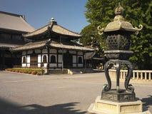 Japão - Kyoto - templo de Nishi Honganji imagem de stock