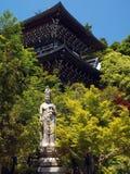 Japão - Miyajima - santuário de Itsukushima Fotografia de Stock Royalty Free
