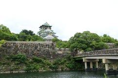 Japão Osaka Castle Garden Foto de Stock