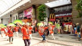 Japão: Sendai Suzume Odori 2011 Imagens de Stock