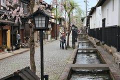 Japón - Furukawa-Hida fotografía de archivo libre de regalías
