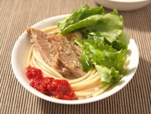 jap noodle στοκ φωτογραφίες