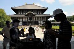 Jap?o, templo de Nara Todaiji imagem de stock royalty free