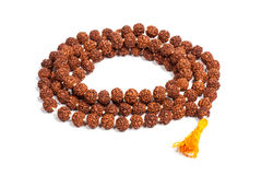 Japa mala (prayer beads) Stock Image