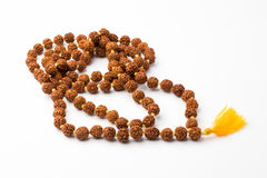 Japa mala prayer beads - isolated Royalty Free Stock Images