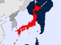 japan översikt Arkivbilder