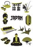 Japan royaltyfri illustrationer