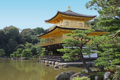 Japan. The Golden Pavilion in Kyoto, Japan stock image