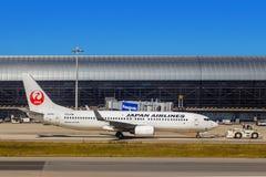 Japan Airlines à Osaka, Japon photos libres de droits