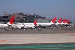 Japan Airlines lizenzfreie stockbilder