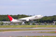 Japan Airlines stockfotos
