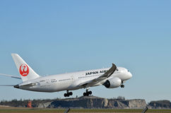 Japan Airlines Image stock