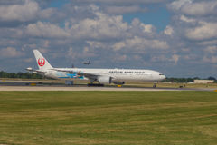Japan Airlines Airliner Royalty Free Stock Photography