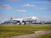 Japan Airlines, Boeing 777 Immagini Stock Libere da Diritti