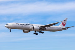 Japan Airlines Boeing 777 Stock Image