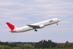 Japan Airlines Royalty Free Stock Photography