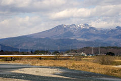 Japan Alps, Honshu, Japan Royalty Free Stock Photo