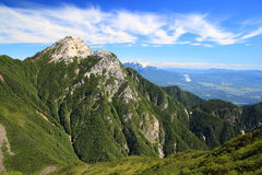Japan Alps Mt. Kaikomagatake Stock Images