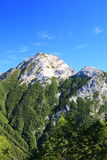 Japan Alps Mt. Kaikomagatake Stock Photography