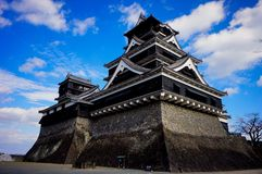 Japan. Ancient building architect Royalty Free Stock Image