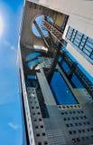 Japan arkitektur, Umeda himmelbyggnad Arkivbild