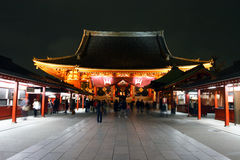 Japan : Asakusa Kannon Royalty Free Stock Image