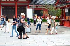 Japan Asakusa Senso-ji temple Tokyo Royalty Free Stock Image