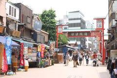 Japan : Asakusa. The street at Asakusa, Japan Stock Image