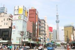 Japan : Asakusa. The street at Asakusa, Japan Royalty Free Stock Images
