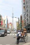 Japan : Asakusa. The street at Asakusa, Japan Stock Images