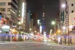 Japan : Asakusa. The street at Asakusa, Japan Stock Photo